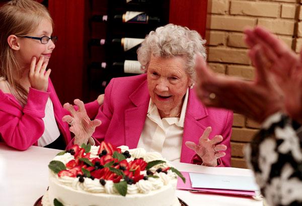 Kingsley Images - Nana's 100th Birthday