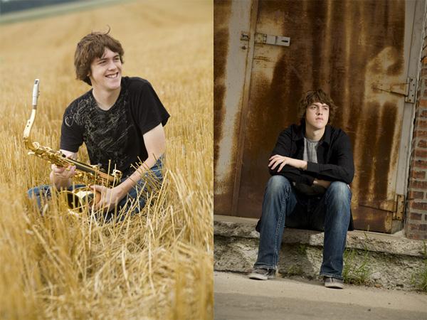 Senior Portrait Brandon Pfeifer Kingsley Images