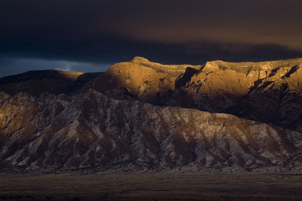 Kingsley Images — Dramatic Sunset on Sandia