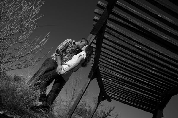 Kingsley Images — Rachael & Steafan Engagement Portrait Session Supper Rock Park, Albuquerque, New Mexico