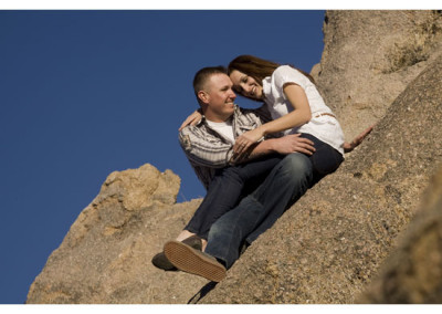 Kingsley Images - Engagement Portrait, Supper Rock