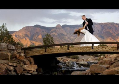 Kingsley Images - Outdoor Couple Portrait,  Sandia Resort, Albuquerque, NM
