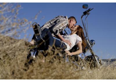 Kingsley Images - Engagement Portrait - Supper Rock, Albuquerque