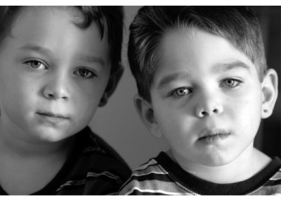 Kingsley Images - Twins portrait